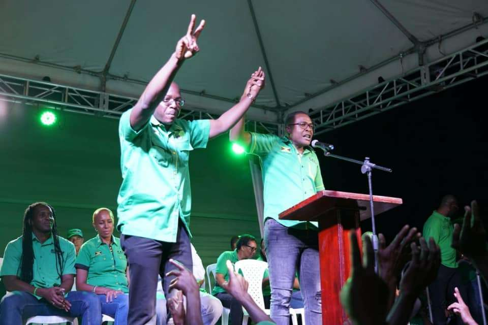 Morgan Stumps For Charles Jr. As SE Clarendon By-Election Nears