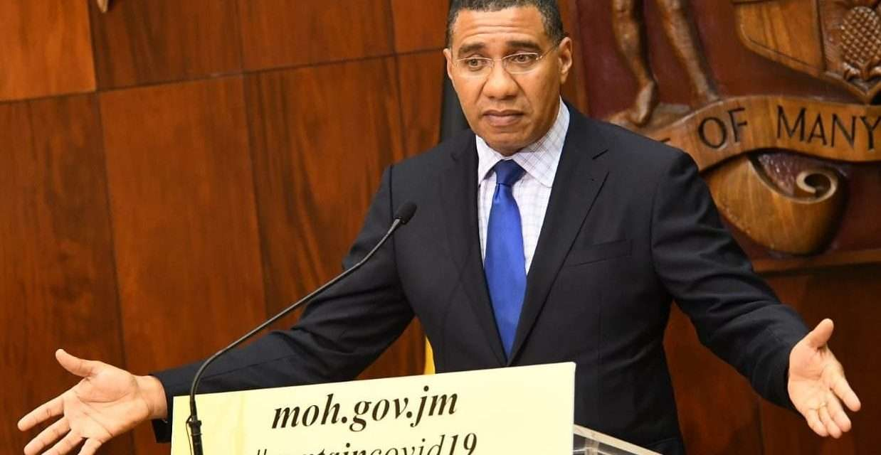 PM Announces Island-wide Curfew
