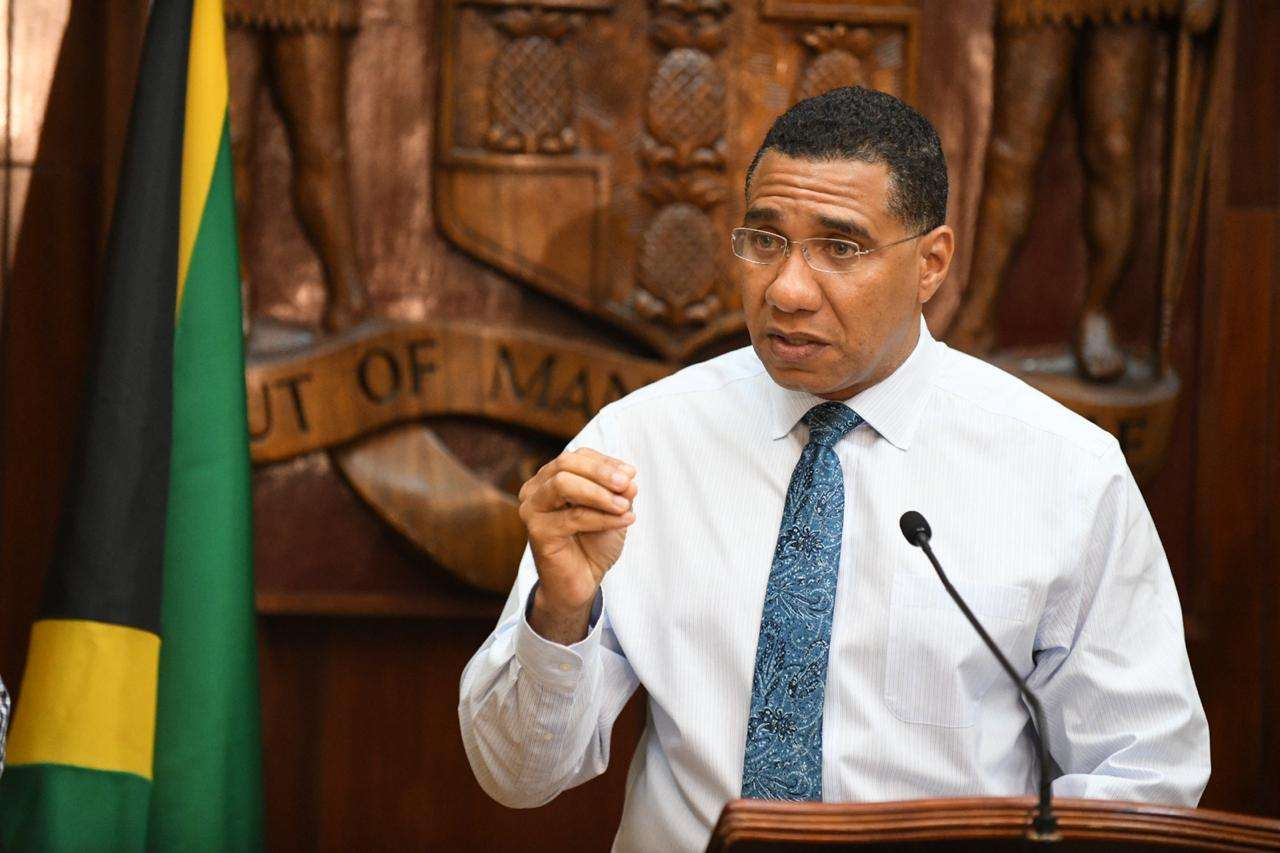 PM Urges Jamaicans To Assist Law Enforcement in Crime Fight