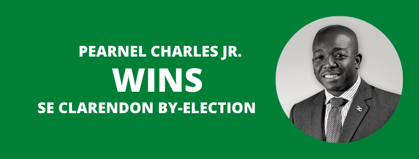 BREAKING: Pearnel Charles  Jr Wins SE Clarendon By-Election