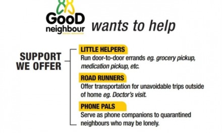 Almost 100 People Sign up for Bunting's 'Good Neighbour' COVID-19 Relief Initiative
