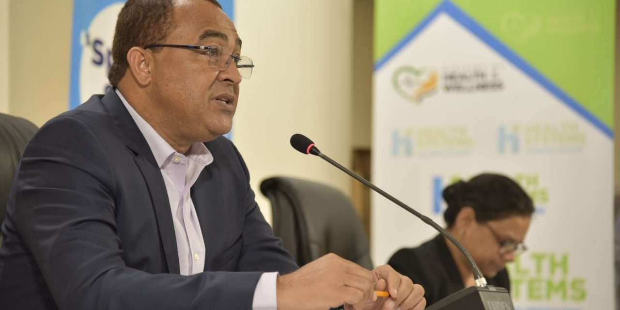 Tufton Tests Negative For COVID-19, Senior Health Ministry Official In Quarantine