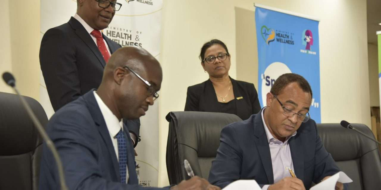 Health Ministry Inks Partnerships To Fight COVID-19