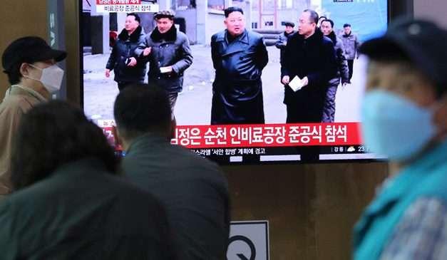 North Korea's Kim Jong Un Appears In Public Amid Health Rumors
