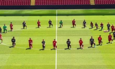 George Floyd Death: Liverpool Players Take Knee in Picture at Anfield