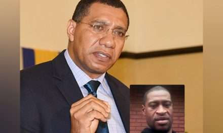Holness Condemns Racism In The US Following Killing of George Floyd