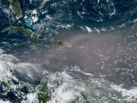 Saharan Dust Expected To Linger Over Jamaica For Several Days