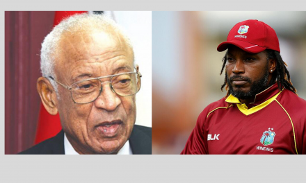 """Gordon Slams Gayle As """"Undisciplined"""", Says He's No """"Role Model"""""""