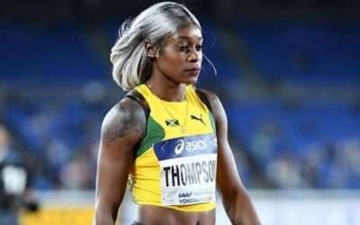 Thompson-Herah Returned To Training Today At Mico University Under Supervision of Husband & Bert Cameron