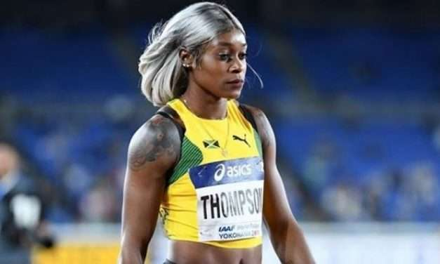 Elaine Thompson Has for First Time Reacted Publicly to Postponement of The Tokyo Games