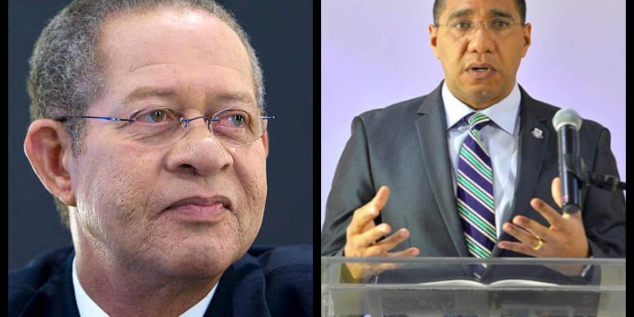 Golding: Holness Enjoys Level of Goodwill Not Experienced by Any J'can Leader Before Him