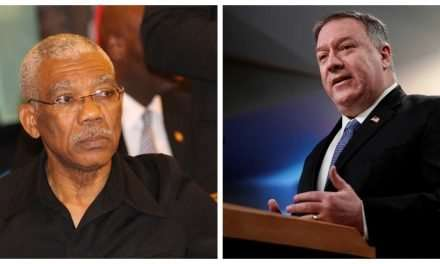 U.S. Hits Guyana with Visa Restrictions, Calls for President Granger to 'Step Aside'