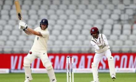 Stokes Powers England to 469-9 dec Against West Indies