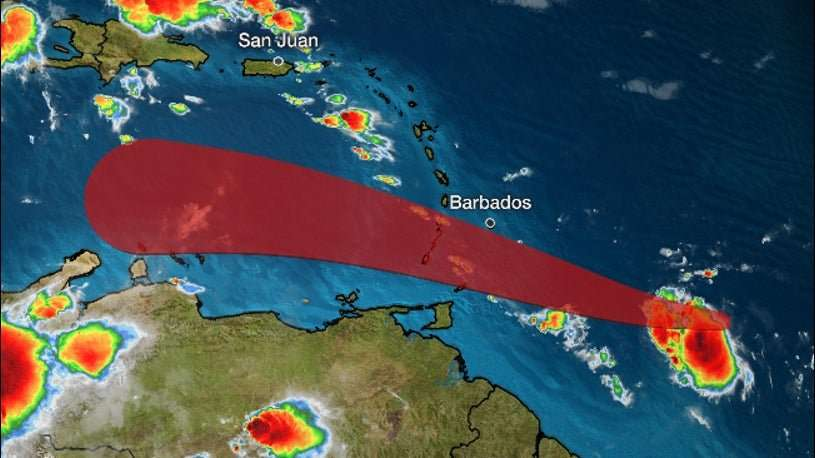 Tropical Storm Gonzalo To Bring Rain to Jamaica Next Week – MET Office