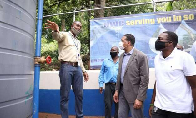 On Campaign Trail in Clarendon, PM Touts Plan To Provide Southern Parishes with Dependable Water