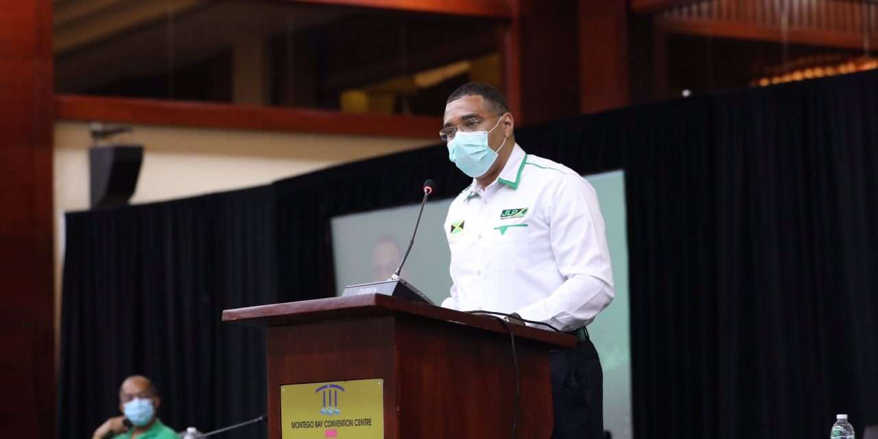 """PM Holness: """"It's A Good Time For An Election."""""""