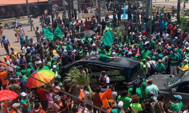 Election Watch 2020: JLP and PNP Supporters Clash in Falmouth