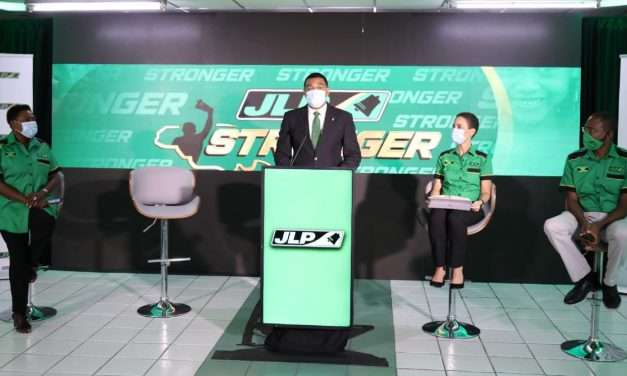 Holness Says JLP Created History by Campaigning on Achievements