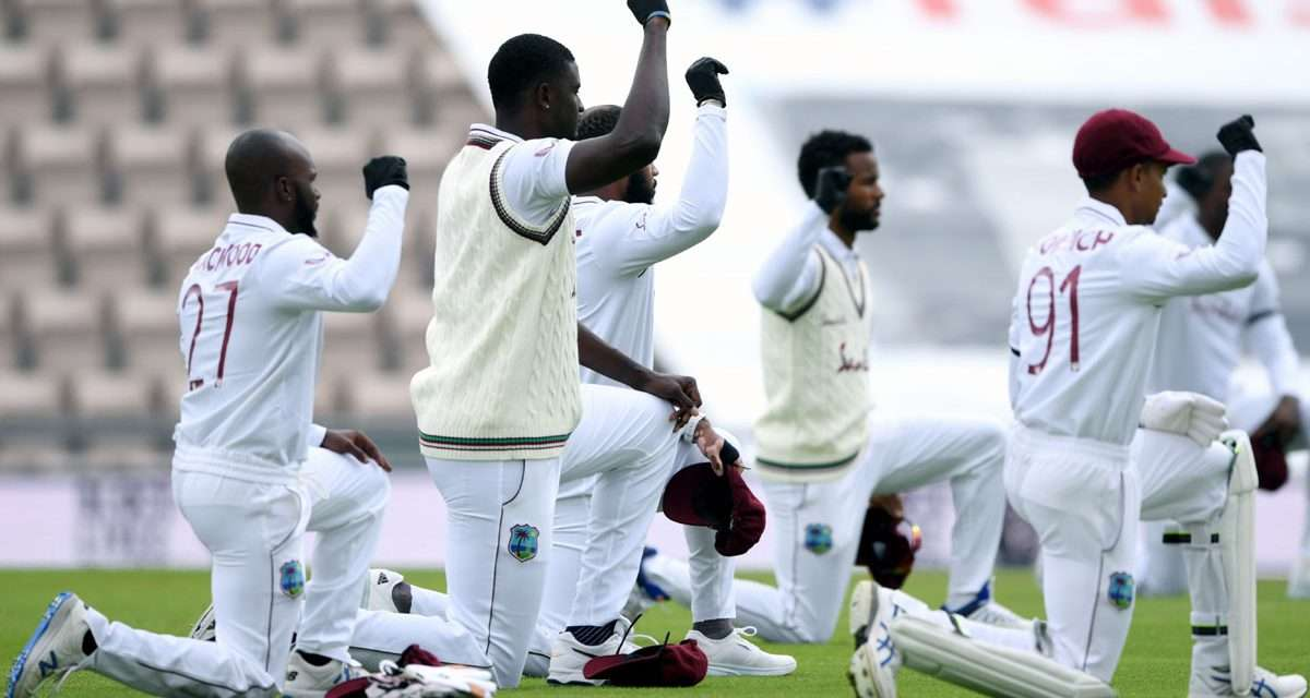 West Indies to Continue Taking the Knee Before Games at the T20 World Cup