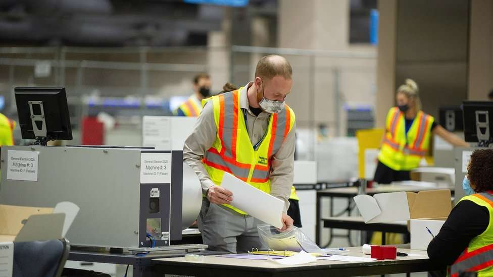 US Elections: Counting of Ballots in Pennsylvania To Finish Ahead of Schedule
