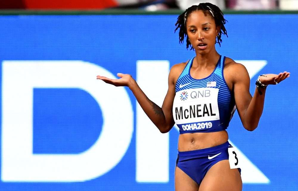 Olympic 100-M Hurdles Champion Brianna McNeal Suspended for Doping; Could Miss Tokyo Games