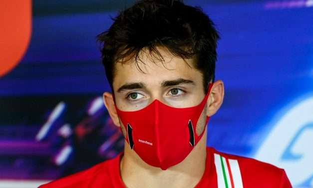Ferrari Driver Charles Leclerc Tests Positive for COVID-19