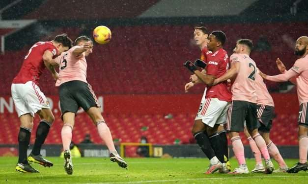 Last Placed Sheffield United Stuns Manchester United At Old Trafford
