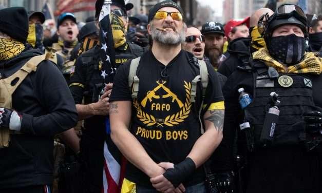 Canada Declares the Proud Boys a Terrorist Group