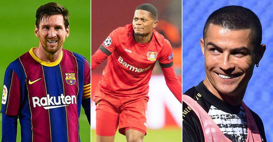 Leon Bailey: Messi Needs to Leave Barca to Edge Ronaldo In G.O.A.T Debate
