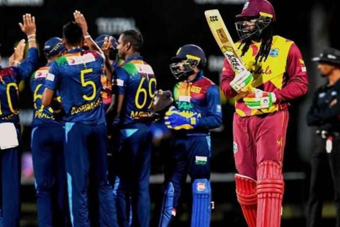 Sri Lanka Wins by 43-Runs to Level T20 Series With West Indies