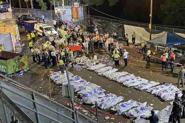 Crush at Israeli Religious Festival Kills 45