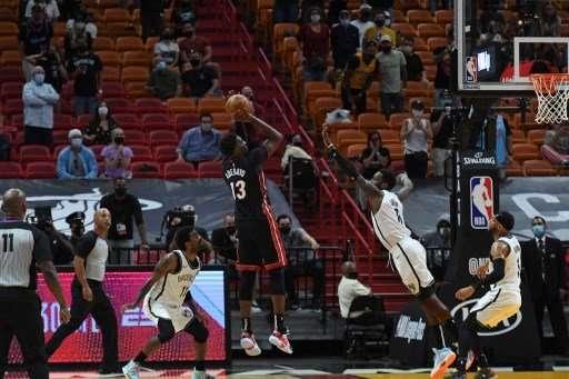 Bam Adebayo Buzzer-Beater Helps Heat Beat Nets