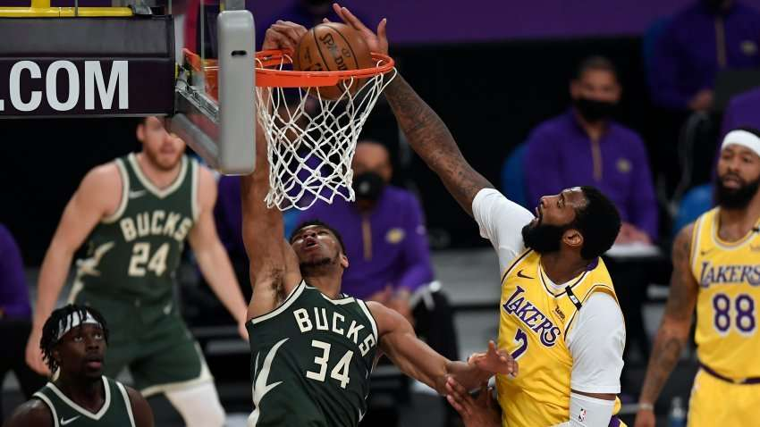 Bucks End 3-Game Losing Run with 15-Point Win over Lakers