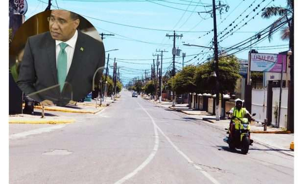 Prime Minister Holness Announces Extension of Weekend Lockdown Measures with Modified Hours