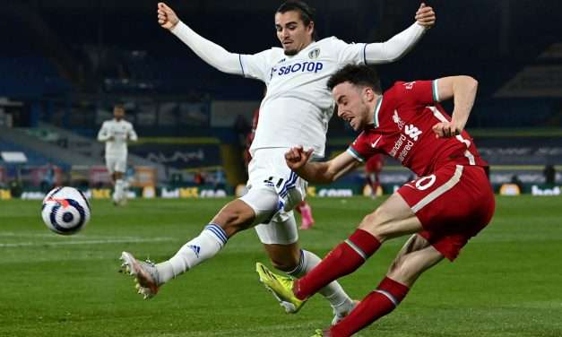 Leeds Dent Liverpool's Champions League Hopes