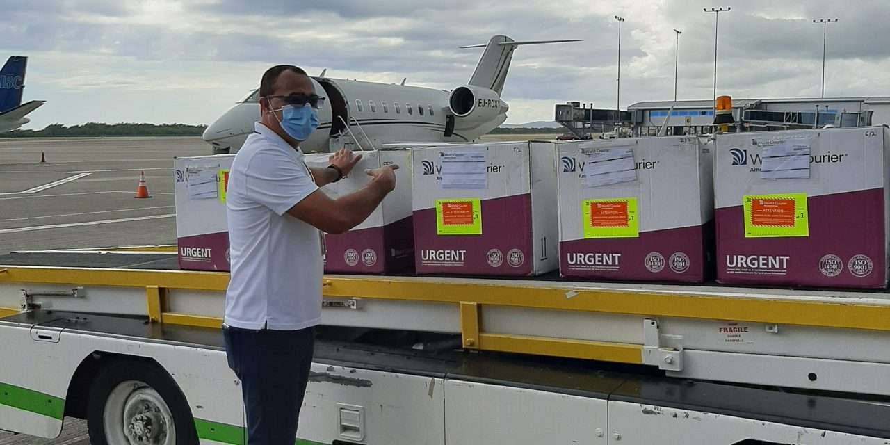 Latest Shipment of AstraZeneca Vaccines Arrive in Jamaica