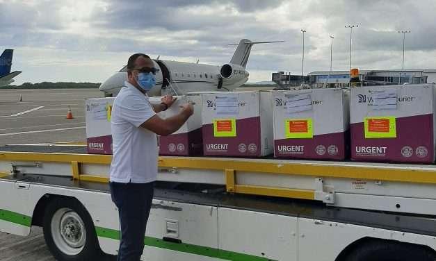 Latest Shipment of AstraZeneca Vaccines Arrive in Jamaica