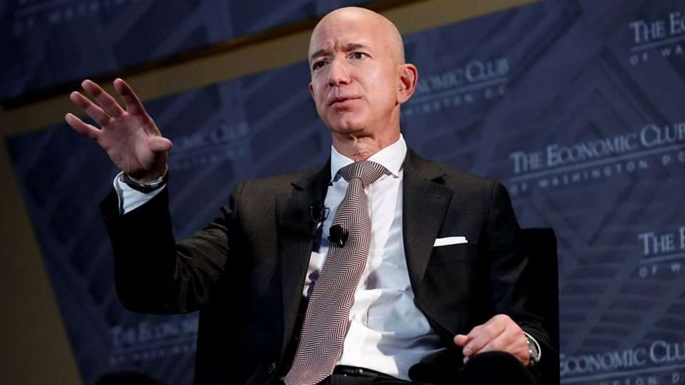 Amazon's Jeff Bezos Backs Tax Rise on US Companies