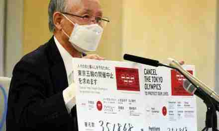 Online Petition To Cancel Tokyo Olympics Gains 350,000 Signatures