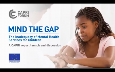 CaPRI Report Shows Only 8% of Children Suffering From Mental Illness in Jamaica are Receiving Treatment