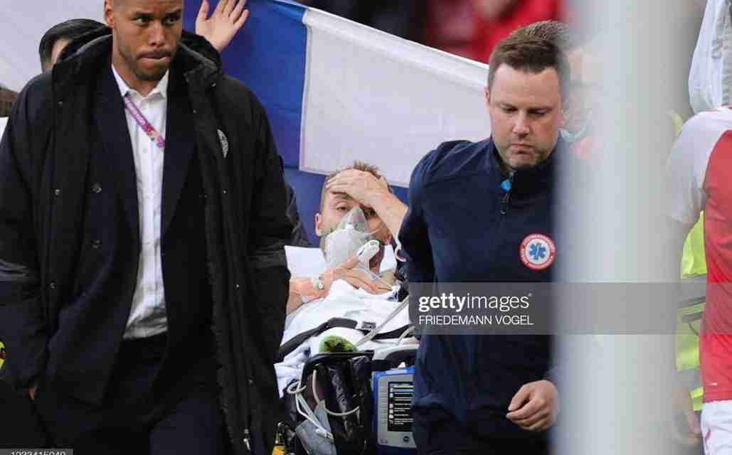 Christian Eriksen in Stable Condition After Collapsing on the Pitch During A EURO 2020 Game Between Denmark and Finland