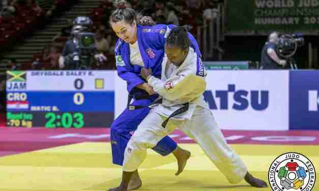 Ebony Drysdale-Daley Eliminated from the Olympics after losing Debut Match