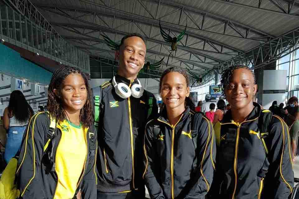 Jamaica's Swim Team in Puerto Rico For CCCAN Championships
