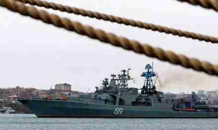 Russian Forces Confront British Ship in Disputed Crimea Waters