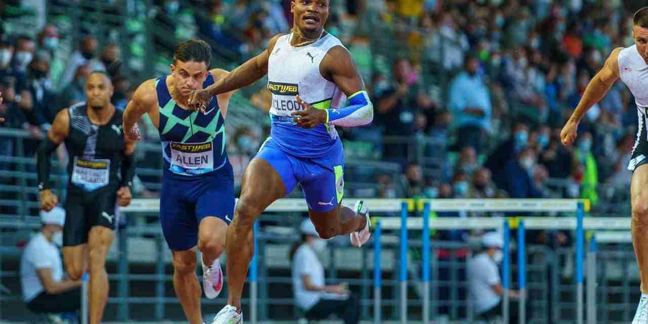 Omar McLeod Sets Meet Record at Rome/Florence Diamond League; Clocks World Lead