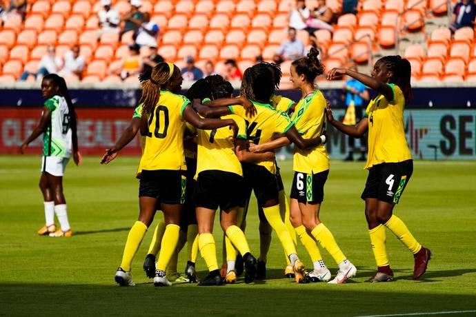 Deneisha Blackwood's Second Half Strike Secures Reggae Girlz 1-0 Win versus Nigeria