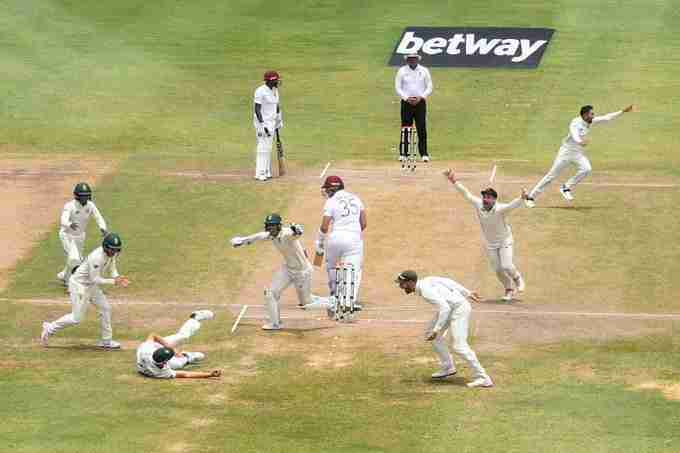 South Africa Take Test Series: West Indies Stumble to Embarrassing Second Test Loss