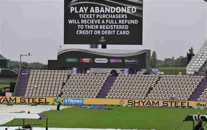 Another Day of Play at the World Test Championship Washed out by Rain