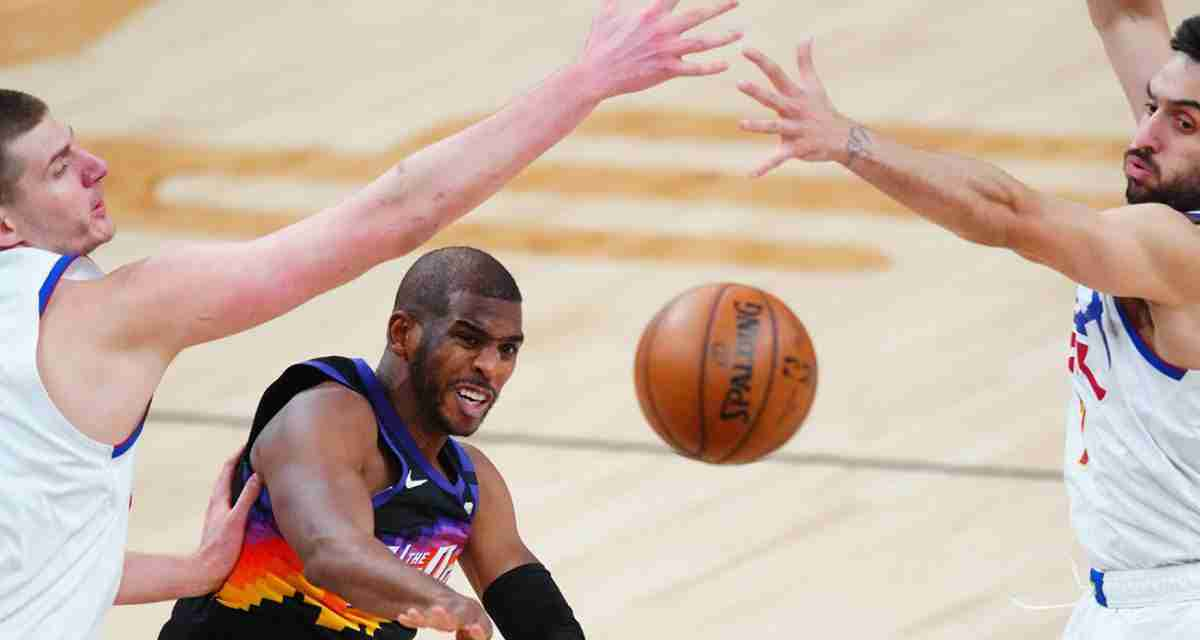 Chris Paul Sets Play-Offs Assists Record In Suns Blowout Win