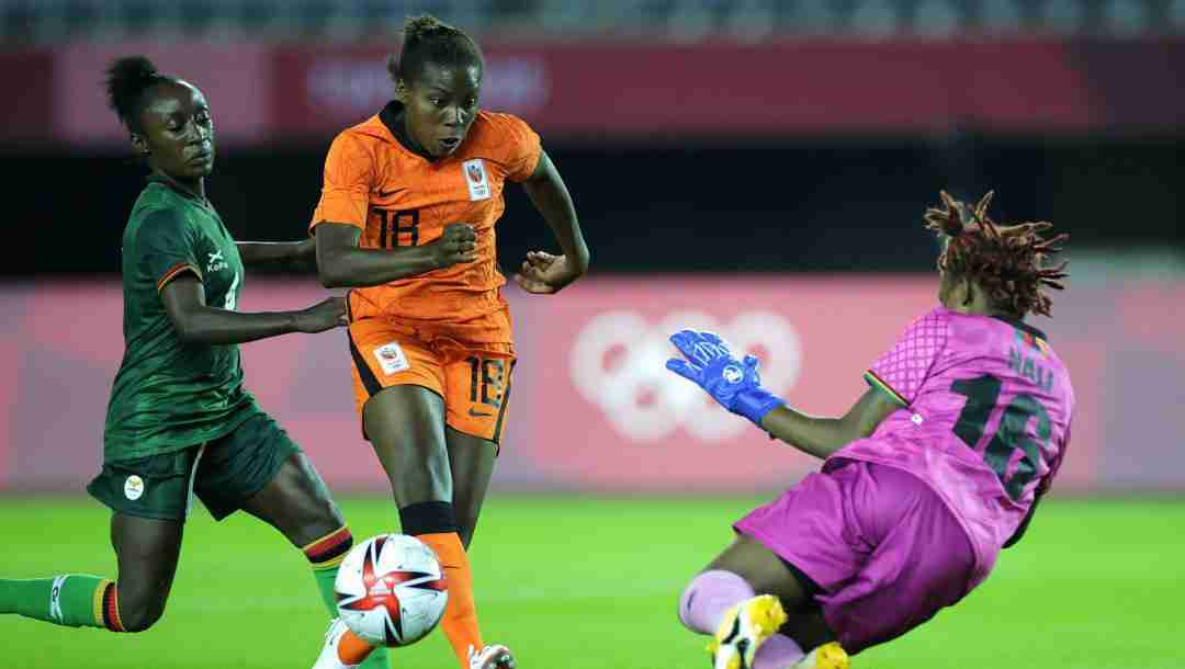 Women's Olympic Football: Netherlands' Miedema Bags Four In 10-3 Thrashing of Zambia